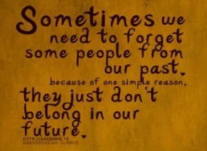Forget Some People