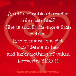 Proverbs 31 PM