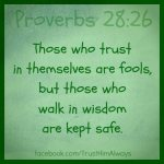 **Trust In Themselves R Fools Prv 28 DPI 27