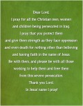 Prayer for Christians