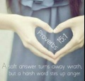 *Proverbs 15-1