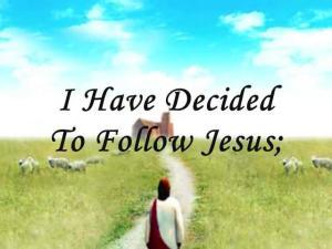 *Follow Jesus
