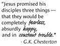Promise:Constant Trouble Fearless