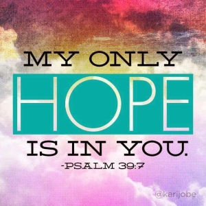 *Hope In You