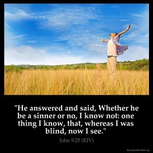 *John 9-25