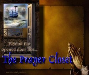 *Prayer Closet