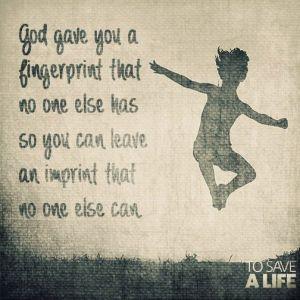*God Gave U Fingerprint